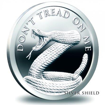 Silver 1oz Don't Tread On Me