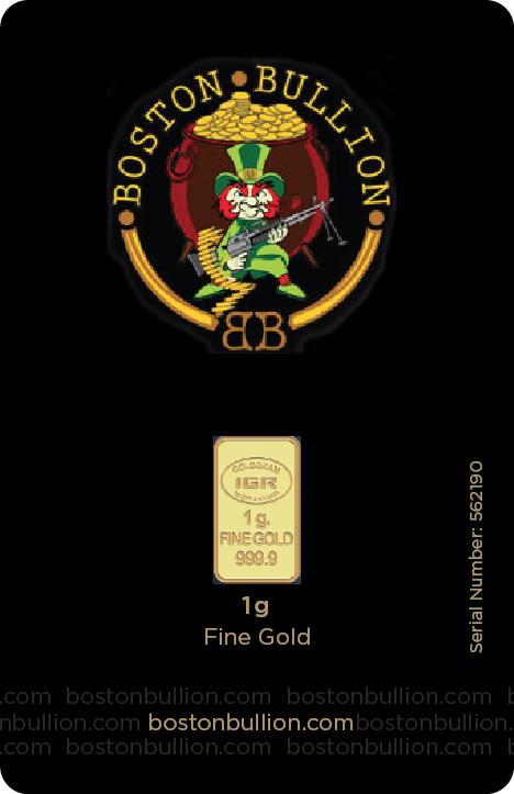 Gold Bar BB 1gram