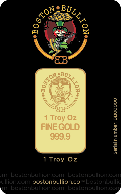 Gold Bar BB 1oz