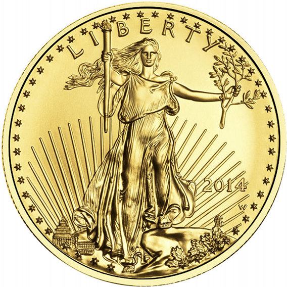 Eagle Gold 1/10 oz