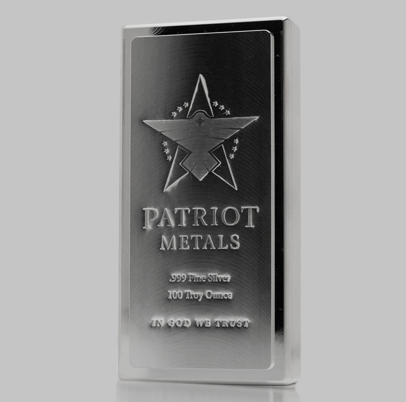 Patriot Silver 100oz
