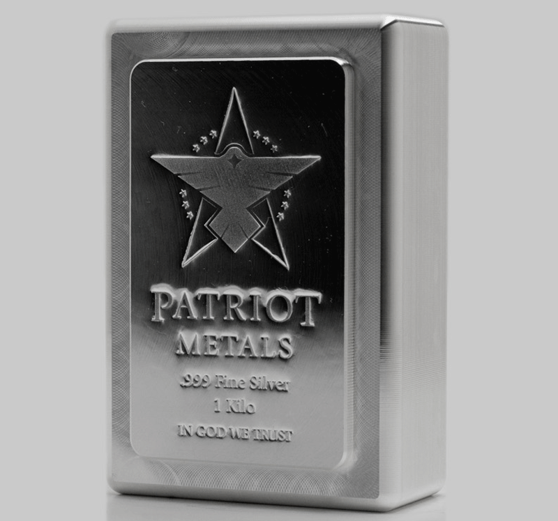 Patriot Silver Kilo